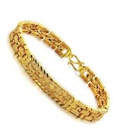 Gold Bracelet Man